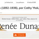 [PODCAST] Renée Dunan, par Cathy Ytak (2020)
