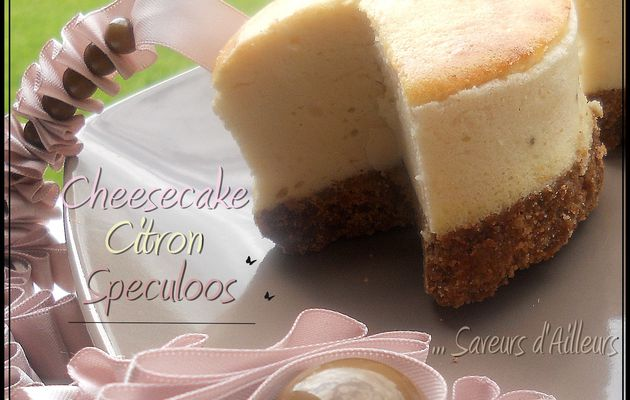 Cheesecake au Citron sur base Speculoos