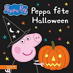 Peppa fête Halloween  cover couverture