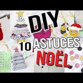 DIY NOËL ┋ 10 ASTUCES & DECO ETONNANTES !! PAS CHER & FACILE CHRISTMAS HACK français