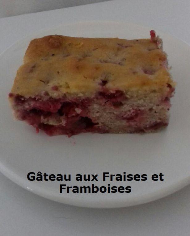 Gâteau aux Fraises et Framboises