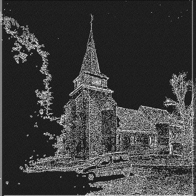 Eglise fortifiée de NAMPCELLES LA COUR