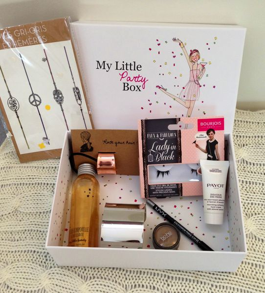 My Little Party Box (spoiler ) !