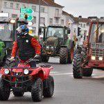 Les agriculteurs vosgiens manifestent à Epinal