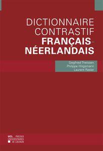 Nouveau livre : le dictionnaire contrastif français-néerlandais