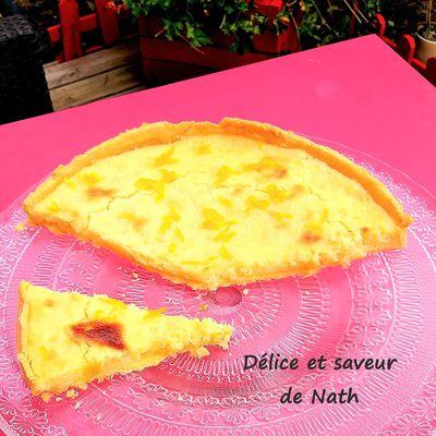 tarte alsacienne au citron