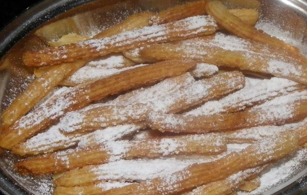 churros à la farine de fruit à pain