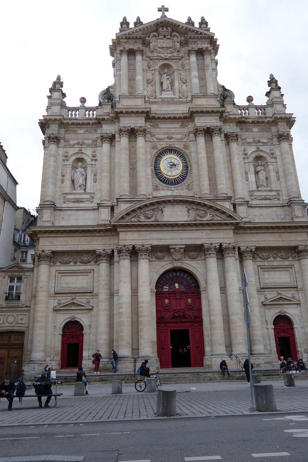 L'église Saint-Paul Saint-Louis,  rue Saint-Antoine