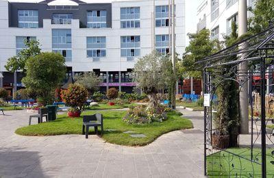 Colombes : le square Louis Aragon ou comment penser et pérenniser l'écologie urbaine !