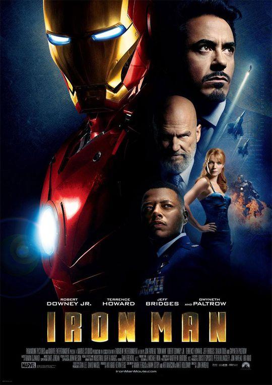 [Les films affichés] Iron Man (2008)