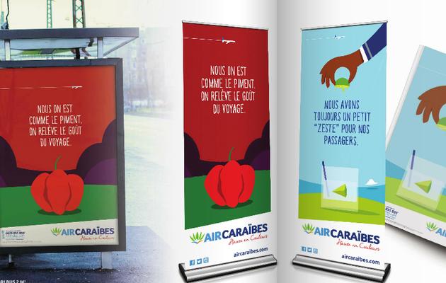 Quand Air Caraïbes change de logo