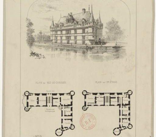 Un château sur une île de l'Indre : Le château d'Azay-le-Rideau à la Renaissance