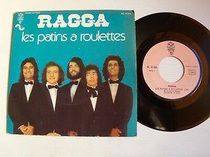 """ragga, un groupe rock français des années 1970 avec le futur fr David """"words"""" et des titres tels """"les patins à roulettes"""""""