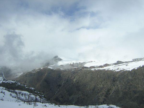 Ski de printemps en avril 2008 :combe du Loup, combe Charbonnière, Tunnel, la Sarenne, Oz, Vaujany, Auris...
