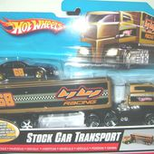 STOCK CAR TRANSPORT CAMION HOT WHEELS 1/64 - car-collector.net