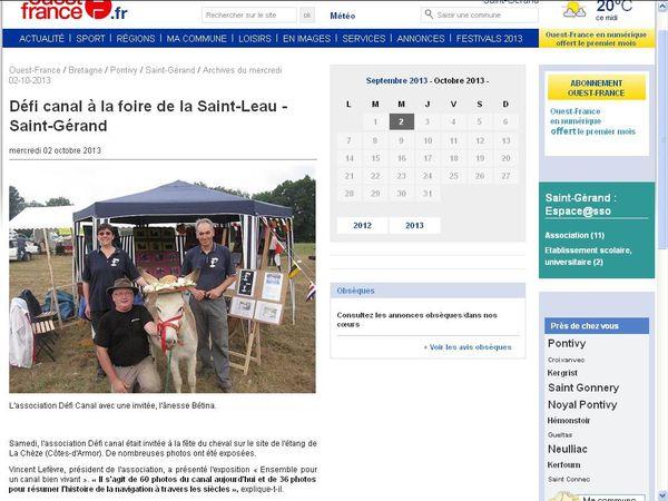 """Défi Canal maintenant, une démarche """" pédagogique """" et une logique aussi pour la navigation intérieure en Bretagne !"""