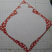 Stamp-n-Design: Honeycomb Ornament - FREE Template!