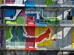 Art of Popov, Da Cruz, Marko et les autres couvrent de tags un bâtiment abandonné à Pantin
