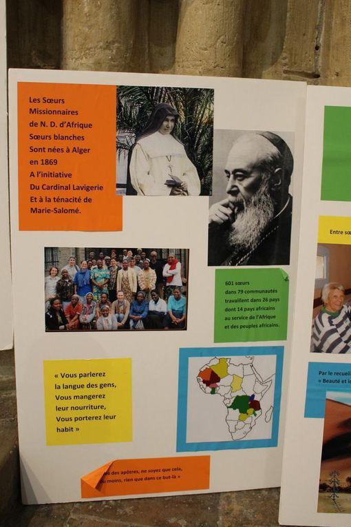 Journée missionnaire pour les 150 ans des Pères blancs fondés par le Cardinal Lavigerie.