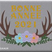 Bonne année 2021 - Chez elkalin.com