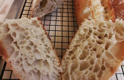 Baguettes Tradition au levain