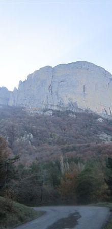 Col de la Chaudière, par Saillans.