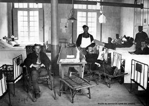 AIN - Hôpitaux militaires (1914-1918)