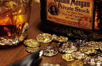 Captain Morgan - Wiskhy - Verre - Doublons - Or - Picture - Free