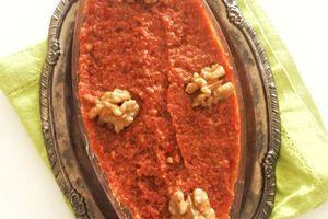Muhammara (dip de poivron rouge)