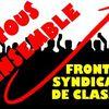 NON à la ratification du TSCG avec le Front Syndical de Classe à la manifestation du 30 septembre 2012 à Paris