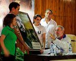 Fidel Castro envoie un message aux jeunes cubains