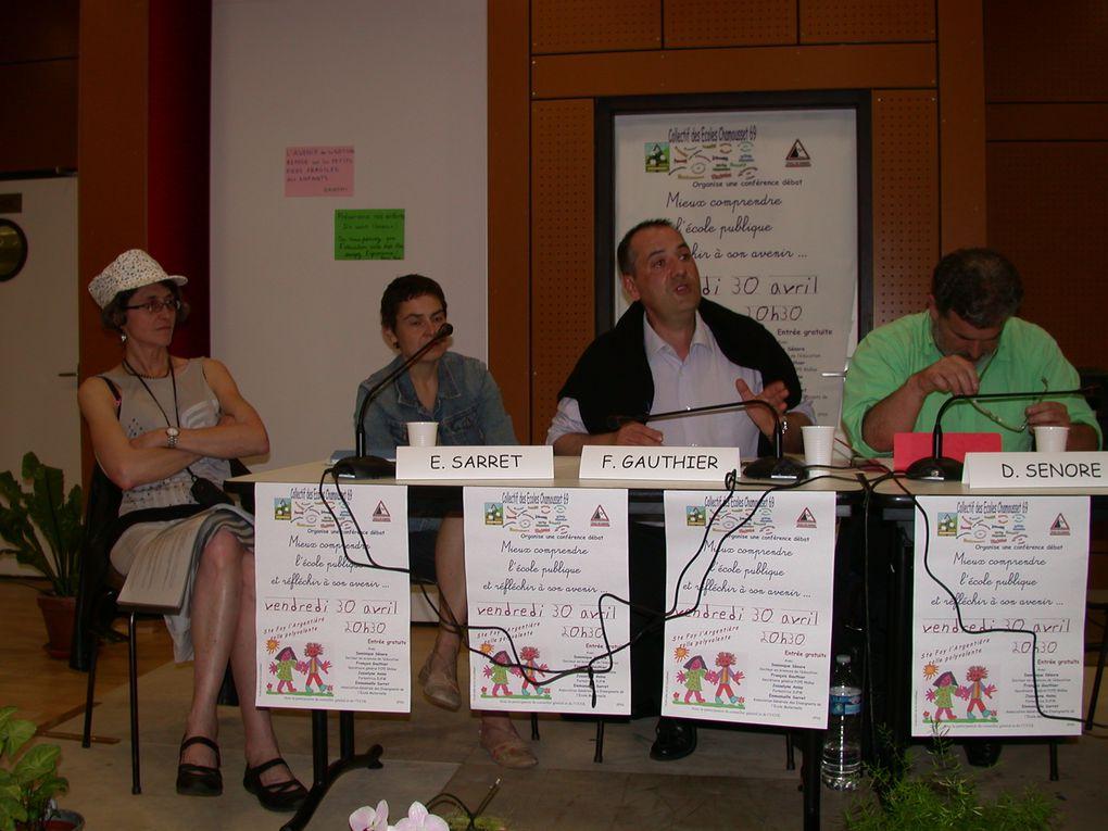 Album - Conference-debat du 30 avril 2010