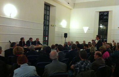 """Pierre-Alain Muet à Cachan : pour le Projet de Loi de Finance, contre un """"Choc de compétitivité"""""""