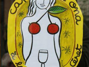La bière blanche à la cerise de Céret à déguster avec modération.