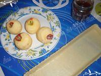 Tarte fraise / pomme