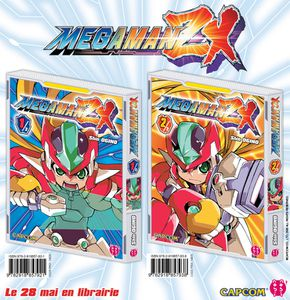 L'arrivée du shônen chez nobi nobi avec #MEGAMAN ZX ! (copyright : ©CAPCOM CO., LTD. 2006 ALL RIGHTS RESERVED.)