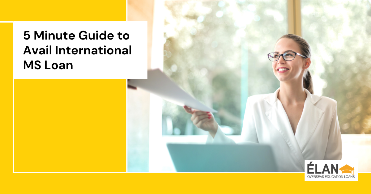A 5-Minute Guide to Avail International MS Loan Options