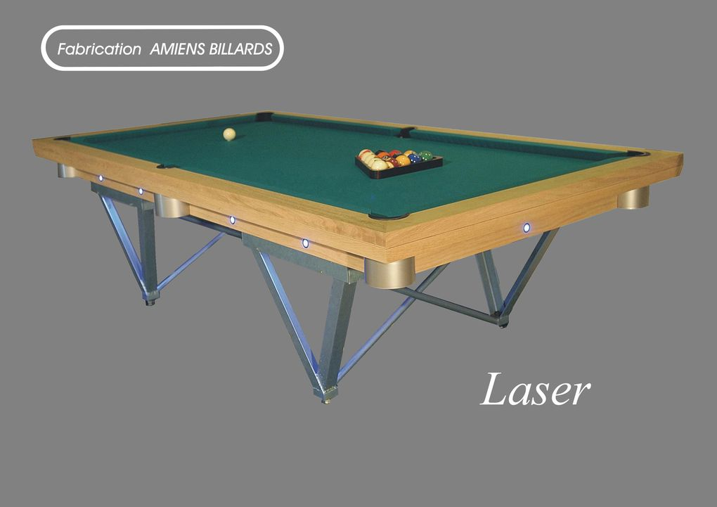 BILLARDS CONTEMPORAINS et DESIGN