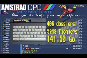Présentation du BIG site {Amstrad CPC Mémoire Ecrite} + de 140 GO de donnée ! 👍