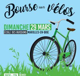 Bourse aux vélos à Marolles-en-Brie