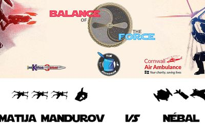 Balance of the Force, round 3: Matija Mandurov (Resistance) vs Nébal (Scum and Villainy) (battle report in English)