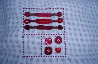 SAL Sewing Sampler 2ème Partie