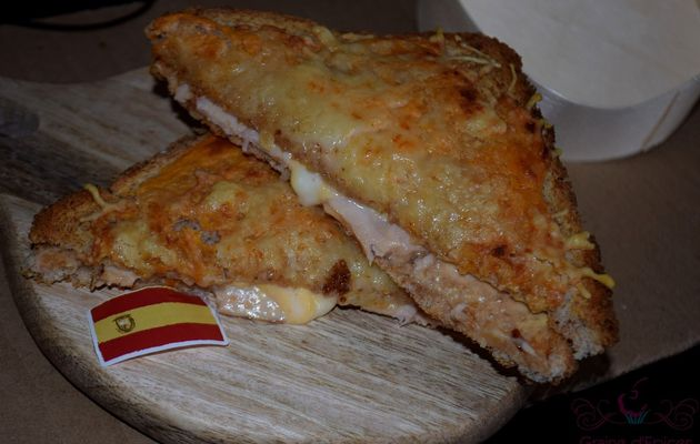 Croque-Monsieur à la Tomme Catalane
