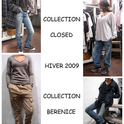 COLLECTION CLOSED ET BERENICE