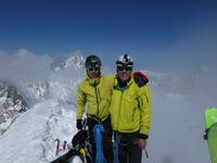 Ski de Randonnée / Alpinisme : Dolent, arête Gallet 3820 m