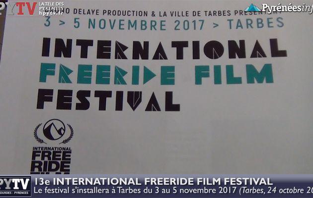 L'International Freeride Film Festival s'installe à Tarbes (24 octobre 2017) | HPyTv Tarbes
