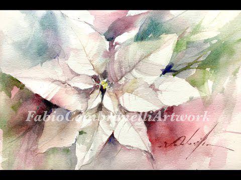 poinsettia blanche - F Cembranelli