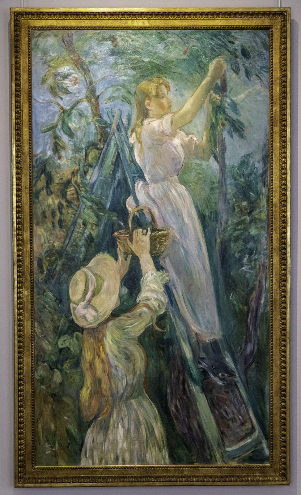 Sélection de quelques peintures de Berthe Morisot.