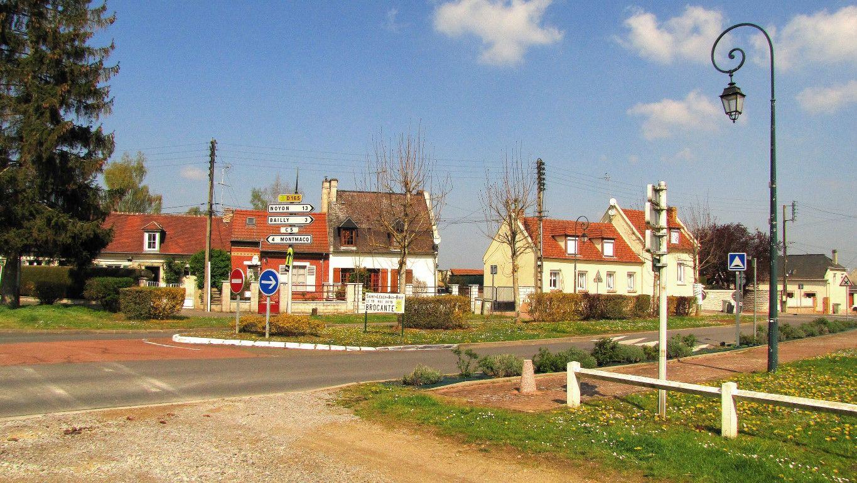 le carrefour de Saint-Léger