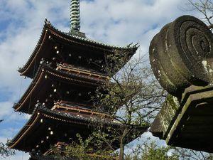 Tôkyô : Le parc d'Ueno 上野公園 (Ueno Kôen)
